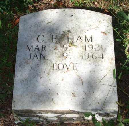HAM, C. E. - Saline County, Arkansas | C. E. HAM - Arkansas Gravestone Photos
