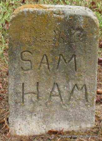HAM, SAM - Saline County, Arkansas | SAM HAM - Arkansas Gravestone Photos