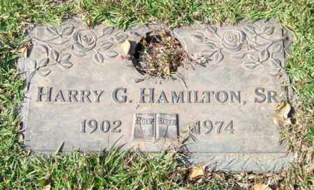 HAMILTON, SR., HARRY G. - Saline County, Arkansas | HARRY G. HAMILTON, SR. - Arkansas Gravestone Photos