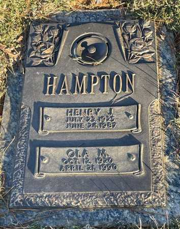 HAMPTION, OLA M. - Saline County, Arkansas | OLA M. HAMPTION - Arkansas Gravestone Photos