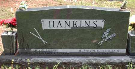 HANKINS (BACK VIEW), ALLEN DALE - Saline County, Arkansas | ALLEN DALE HANKINS (BACK VIEW) - Arkansas Gravestone Photos