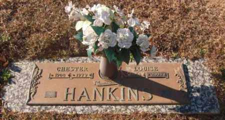 HANKINS, LOUISE GENEVA - Saline County, Arkansas | LOUISE GENEVA HANKINS - Arkansas Gravestone Photos