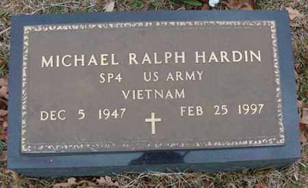 HARDIN (VETERAN), MICHAEL RALPH - Saline County, Arkansas | MICHAEL RALPH HARDIN (VETERAN) - Arkansas Gravestone Photos