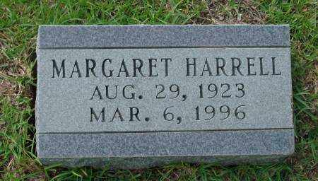 HARRELL, MARGARET - Saline County, Arkansas | MARGARET HARRELL - Arkansas Gravestone Photos