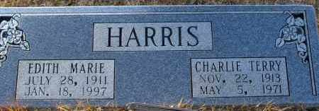 HARRIS, CHARLIE TERRY - Saline County, Arkansas | CHARLIE TERRY HARRIS - Arkansas Gravestone Photos