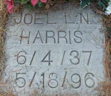 HARRIS, JOEL LYNDON NATHAN - Saline County, Arkansas | JOEL LYNDON NATHAN HARRIS - Arkansas Gravestone Photos