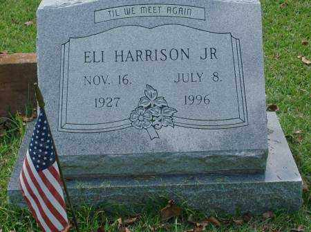 HARRISON, JR., ELI - Saline County, Arkansas | ELI HARRISON, JR. - Arkansas Gravestone Photos