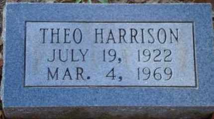 HARRISON, THEO - Saline County, Arkansas | THEO HARRISON - Arkansas Gravestone Photos