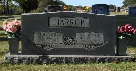 HARROP, EARL WEBSTER - Saline County, Arkansas | EARL WEBSTER HARROP - Arkansas Gravestone Photos