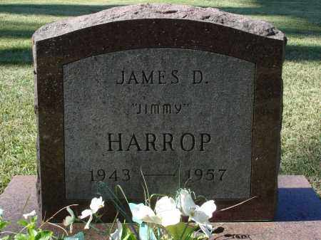 HARROP, JAMES D. - Saline County, Arkansas | JAMES D. HARROP - Arkansas Gravestone Photos