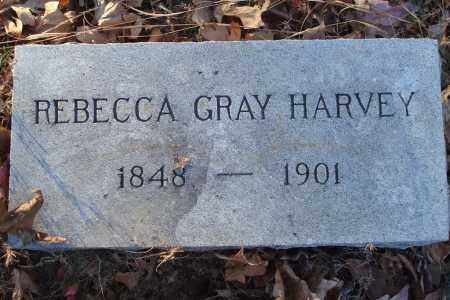 GRAY HARVEY, REBECCA - Saline County, Arkansas | REBECCA GRAY HARVEY - Arkansas Gravestone Photos