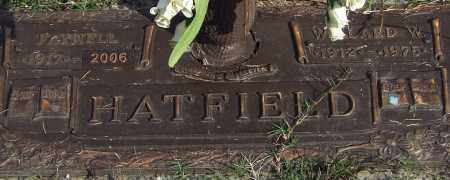 HATFIELD, FAYNELL - Saline County, Arkansas | FAYNELL HATFIELD - Arkansas Gravestone Photos