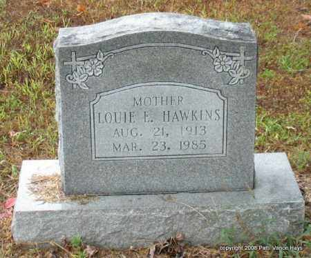 HAWKINS, LOUIE E. - Saline County, Arkansas | LOUIE E. HAWKINS - Arkansas Gravestone Photos