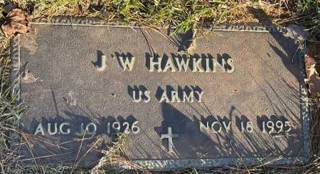 HAWKINS (VETERAN), J. W. - Saline County, Arkansas | J. W. HAWKINS (VETERAN) - Arkansas Gravestone Photos
