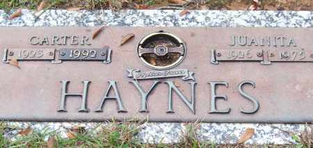 HAYNES, CARTER - Saline County, Arkansas | CARTER HAYNES - Arkansas Gravestone Photos