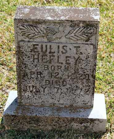 HEFLEY, EULIS T - Saline County, Arkansas | EULIS T HEFLEY - Arkansas Gravestone Photos