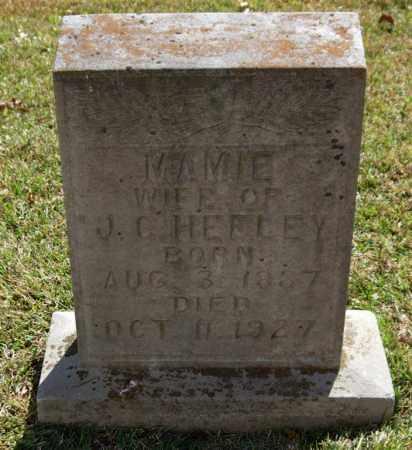HEFLEY, MAMIE - Saline County, Arkansas | MAMIE HEFLEY - Arkansas Gravestone Photos