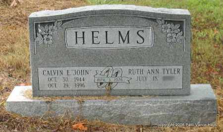 "HELMS, CALVIN E. ""JOHN"" - Saline County, Arkansas 