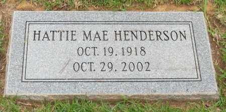 HENDERSON, HATTIE MAE - Saline County, Arkansas | HATTIE MAE HENDERSON - Arkansas Gravestone Photos