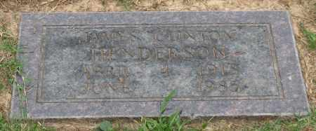 HENDERSON, JAMES CLINTON - Saline County, Arkansas | JAMES CLINTON HENDERSON - Arkansas Gravestone Photos