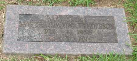 HENDERSON, MARTHA MAXINE - Saline County, Arkansas | MARTHA MAXINE HENDERSON - Arkansas Gravestone Photos