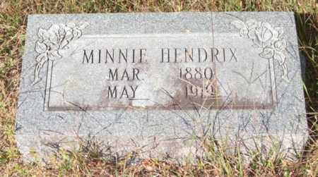 HENDRIX, MINNIE - Saline County, Arkansas | MINNIE HENDRIX - Arkansas Gravestone Photos