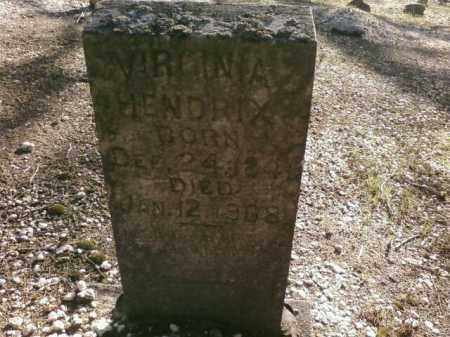 HENDRIX, VIRGINIA - Saline County, Arkansas | VIRGINIA HENDRIX - Arkansas Gravestone Photos