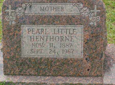 LITTLE HENTHORNE, PEARL - Saline County, Arkansas | PEARL LITTLE HENTHORNE - Arkansas Gravestone Photos