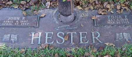 HESTER, EDNA F. - Saline County, Arkansas | EDNA F. HESTER - Arkansas Gravestone Photos