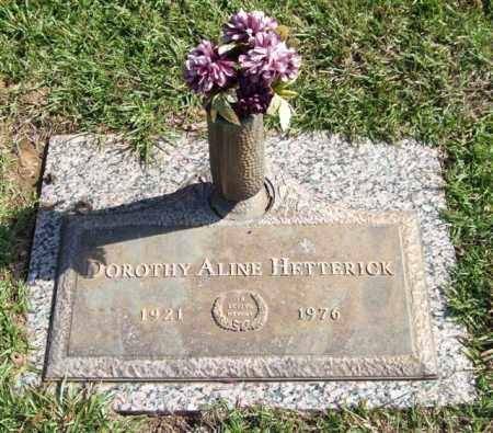 HETTERICK, DOROTHY ALINE - Saline County, Arkansas | DOROTHY ALINE HETTERICK - Arkansas Gravestone Photos