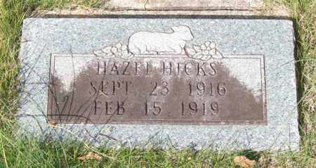 HICKS, HAZEL - Saline County, Arkansas | HAZEL HICKS - Arkansas Gravestone Photos