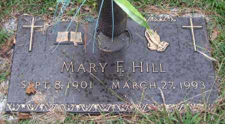 HILL, MARY F. - Saline County, Arkansas | MARY F. HILL - Arkansas Gravestone Photos