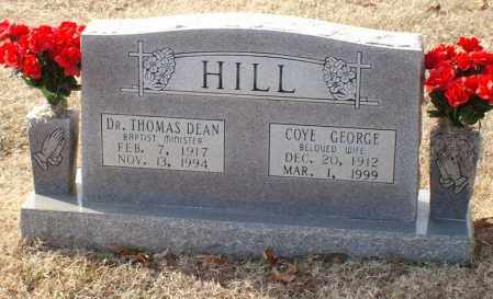 HILL, THOMAS DEAN, DR. - Saline County, Arkansas | THOMAS DEAN, DR. HILL - Arkansas Gravestone Photos