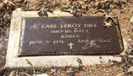 HILL (VETERAN KOR), EARL LEROY - Saline County, Arkansas | EARL LEROY HILL (VETERAN KOR) - Arkansas Gravestone Photos