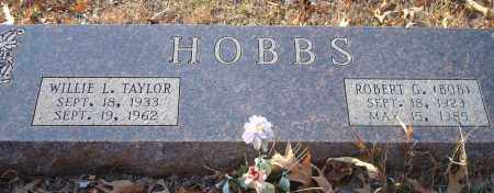 TAYLOR HOBBS, WILLIE L - Saline County, Arkansas | WILLIE L TAYLOR HOBBS - Arkansas Gravestone Photos