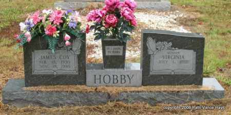 HOBBY, JAMES COY - Saline County, Arkansas | JAMES COY HOBBY - Arkansas Gravestone Photos