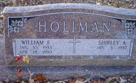 HOLIMAN, WILLIAM F - Saline County, Arkansas | WILLIAM F HOLIMAN - Arkansas Gravestone Photos
