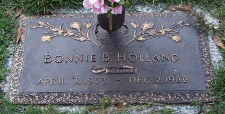 HOLLAND, BONNIE B. - Saline County, Arkansas | BONNIE B. HOLLAND - Arkansas Gravestone Photos
