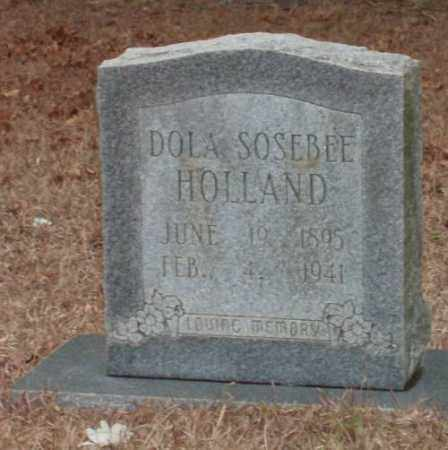 SOSEBEE HOLLAND, DOLA - Saline County, Arkansas | DOLA SOSEBEE HOLLAND - Arkansas Gravestone Photos