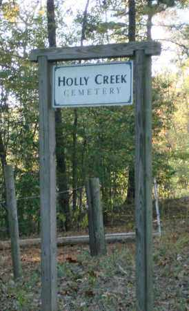 HOLLY CREEK, CEMETERY ENTRANCE - Saline County, Arkansas | CEMETERY ENTRANCE HOLLY CREEK - Arkansas Gravestone Photos
