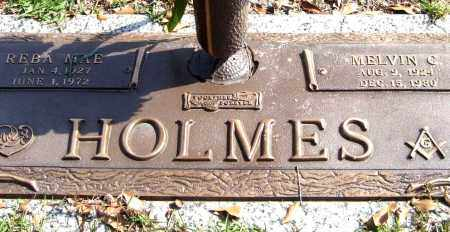 HOLMES, MELVIN C. - Saline County, Arkansas | MELVIN C. HOLMES - Arkansas Gravestone Photos