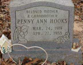 HOOKS, PENNY ANN - Saline County, Arkansas | PENNY ANN HOOKS - Arkansas Gravestone Photos