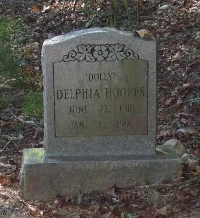 HOOPES, DELPHIA 'DOLLY' - Saline County, Arkansas   DELPHIA 'DOLLY' HOOPES - Arkansas Gravestone Photos