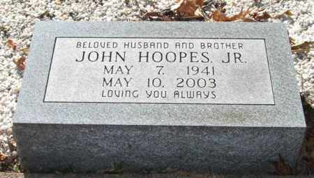 HOOPES, JR., JOHN - Saline County, Arkansas | JOHN HOOPES, JR. - Arkansas Gravestone Photos