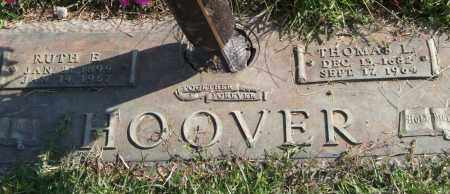 HOOVER, RUTH E. - Saline County, Arkansas | RUTH E. HOOVER - Arkansas Gravestone Photos