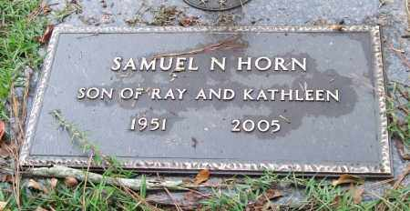 HORN, SAMUEL N. - Saline County, Arkansas | SAMUEL N. HORN - Arkansas Gravestone Photos
