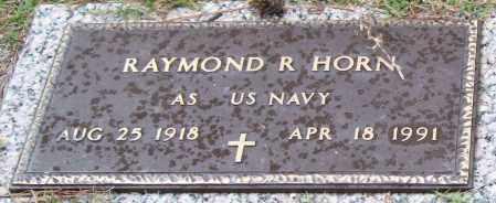 HORN (VETERAN), RAYMOND R - Saline County, Arkansas | RAYMOND R HORN (VETERAN) - Arkansas Gravestone Photos