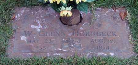 HORNBECK, W. GLENN - Saline County, Arkansas | W. GLENN HORNBECK - Arkansas Gravestone Photos