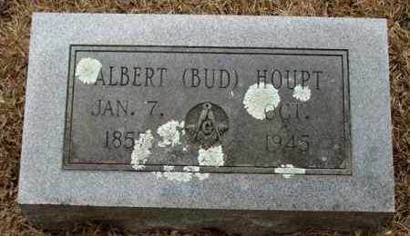 HOUPT, ALBERT (BUD) - Saline County, Arkansas | ALBERT (BUD) HOUPT - Arkansas Gravestone Photos