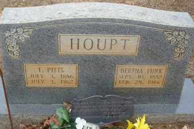 HOUPT, BERTHA - Saline County, Arkansas | BERTHA HOUPT - Arkansas Gravestone Photos